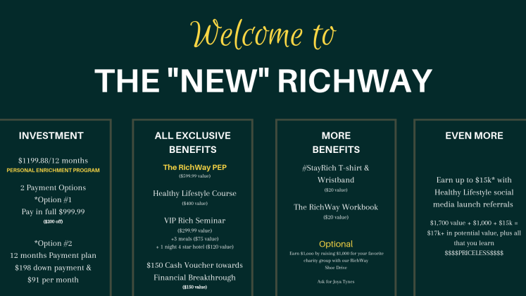 THE NEW RICHWAY